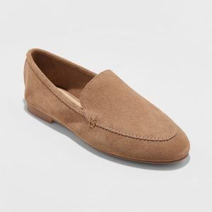 A new day taupe loafers NEW